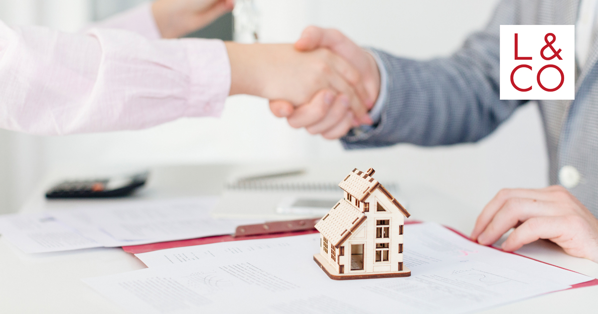 property deal handshake